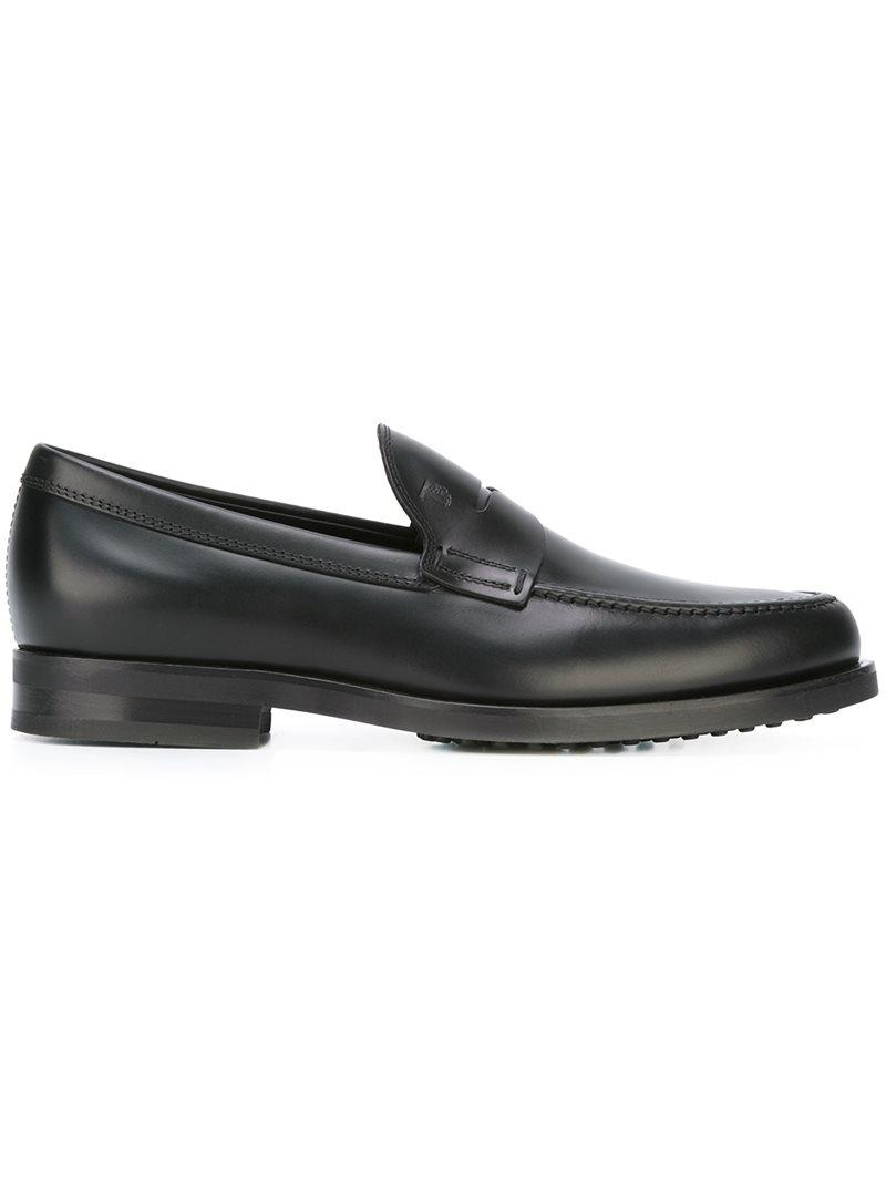 2f456324c87 Tod s Classic Penny Loafers in Black for Men - Lyst