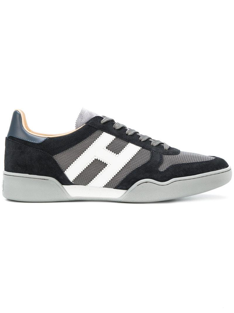 panelled sporty sneakers - Grey Hogan 2018 Unisex Cheap Price Wiki Cheap For Nice K42iCbxlrM