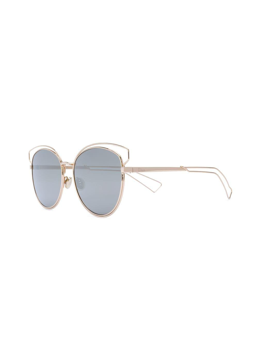 a28ede3fd3 Lyst - Dior Sideral 2 Sunglasses in Metallic