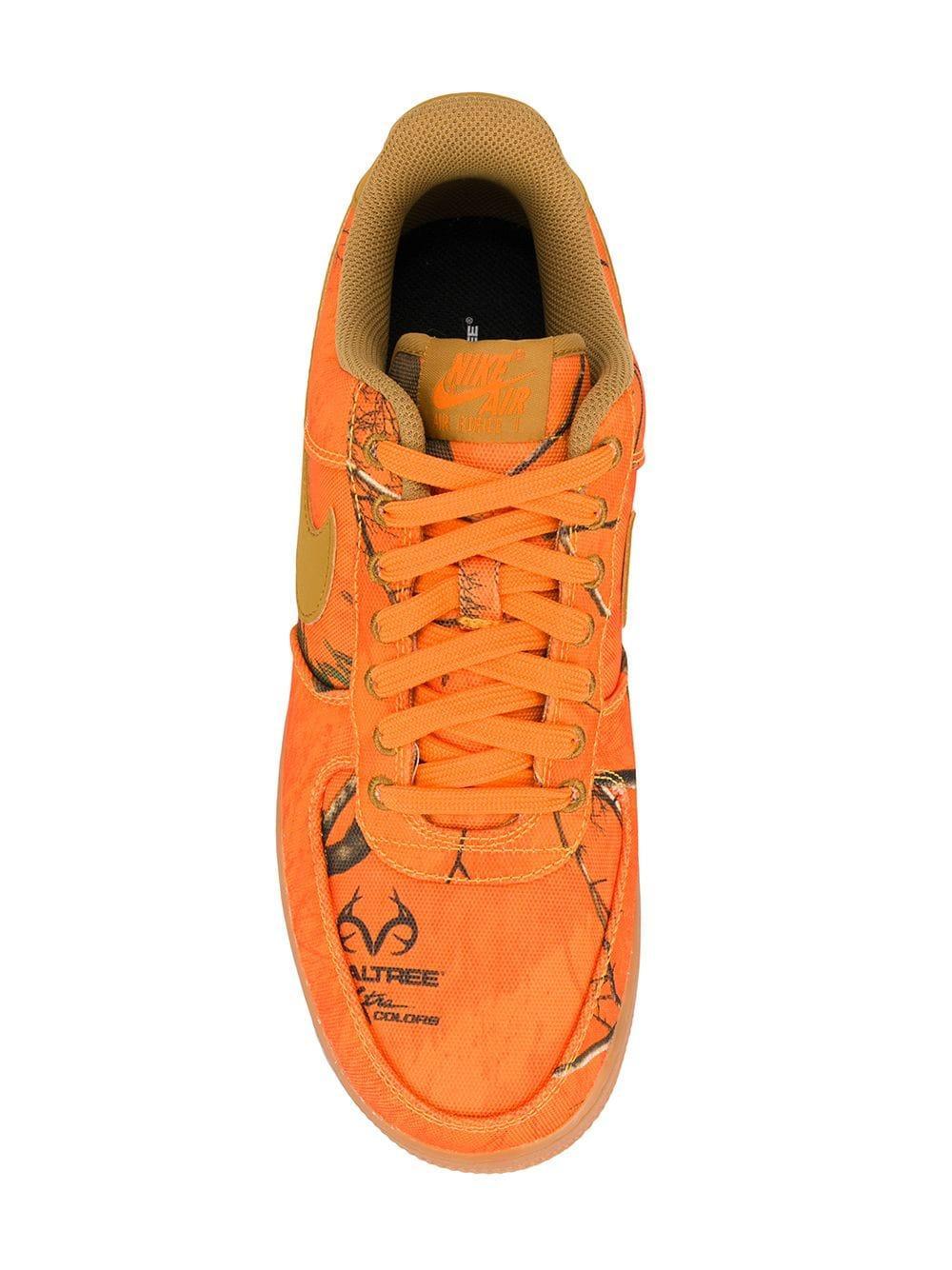 f30ea9faad5524 Lyst - Nike Air Force 1  07 Lv8 3 Sneakers in Orange for Men