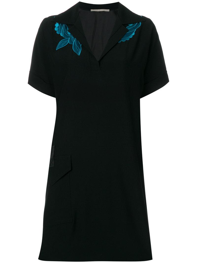 polo shirt dress - Black Marco De Vincenzo Cheapest Price Outlet Store Brand New Unisex Sale Online Outlet 2018 1vxQ0XlX