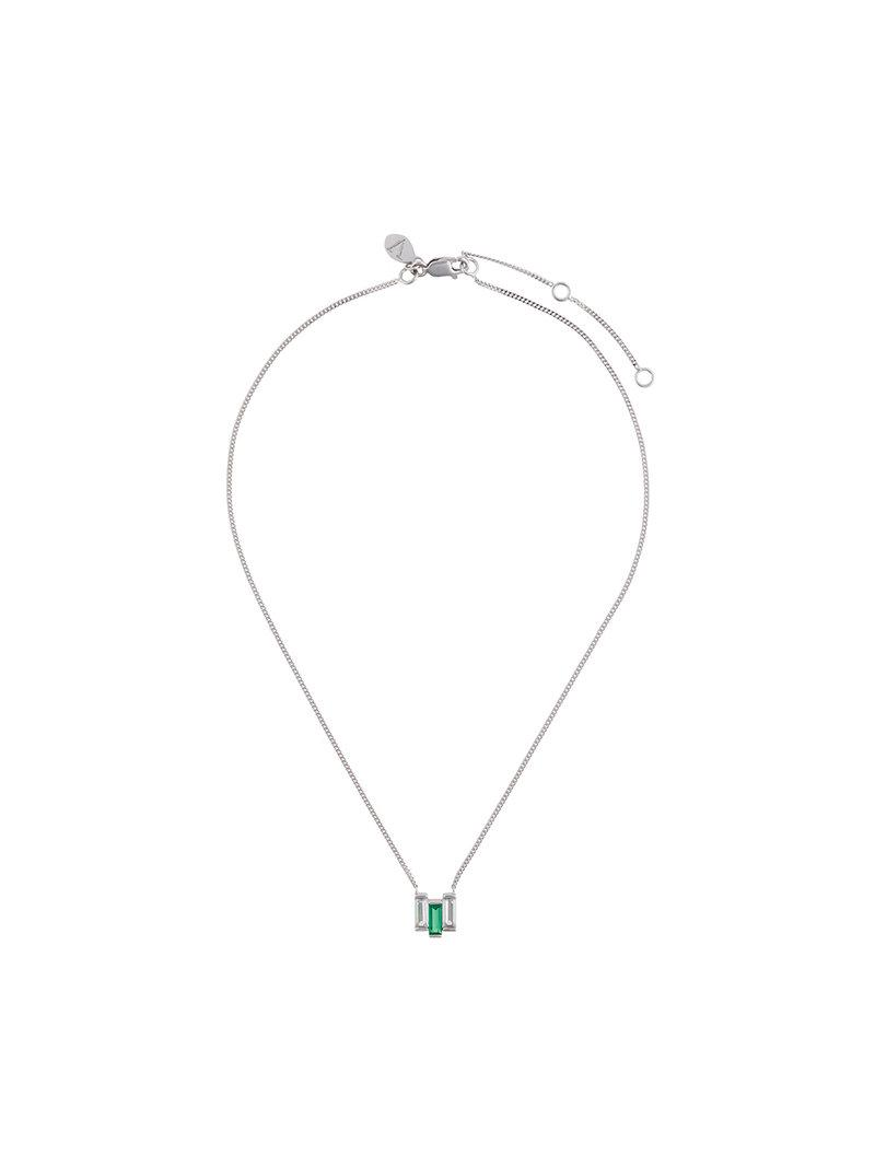V JEWELLERY Chrysler necklace - Metallic NzftJ
