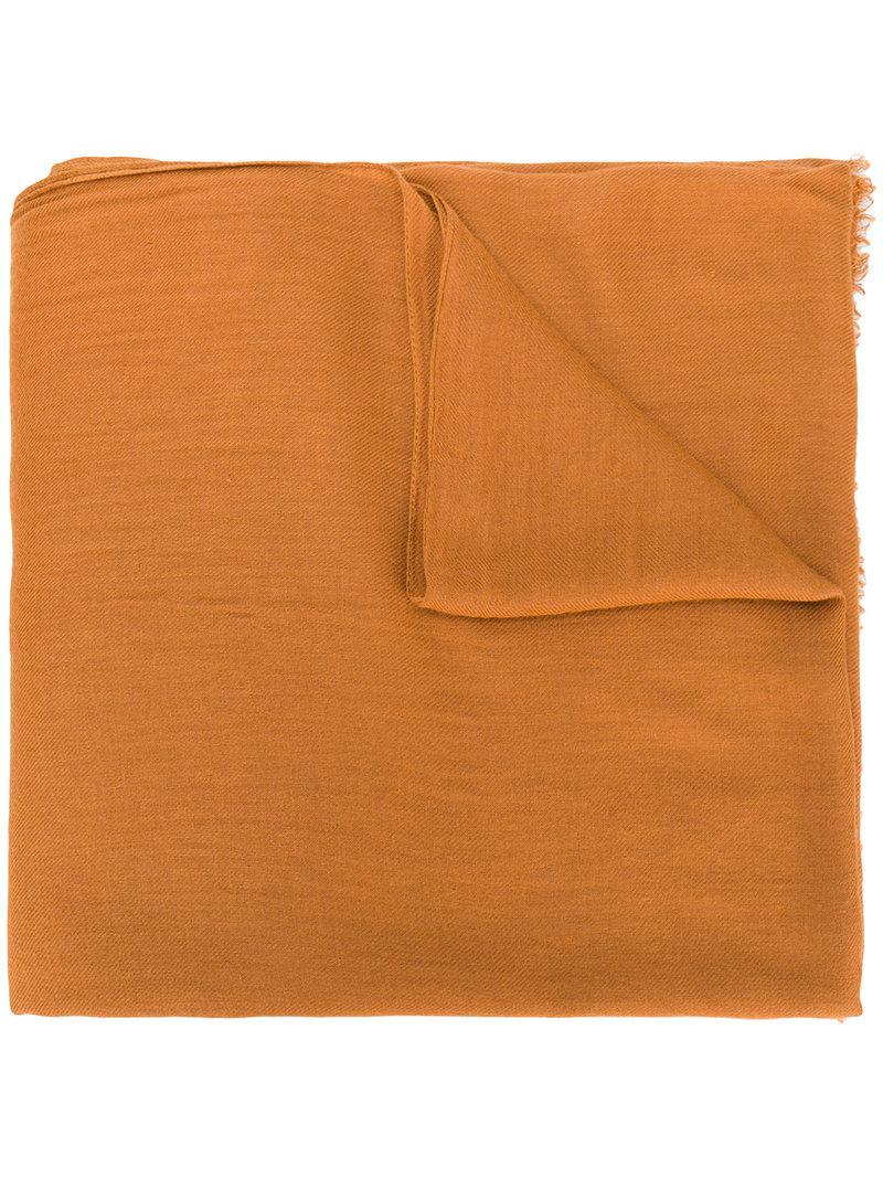 casual soft scarf - Yellow & Orange Isabel Marant 0czay