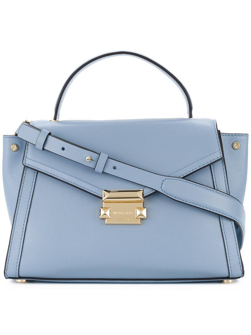 Whitney medium satchel - Blue Michael Michael Kors j1IKH