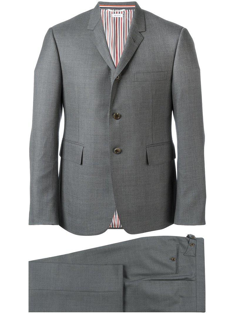 Lyst - Costume classique Thom Browne pour homme en coloris Gris 02b6ba5341b