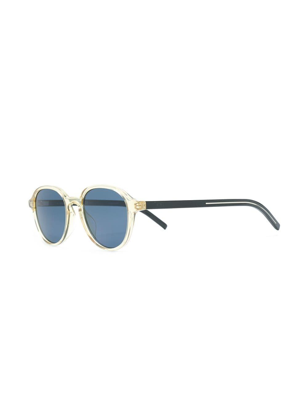 d0d9b3057a97b Lyst - Dior Tinted Lens Sunglasses in Yellow
