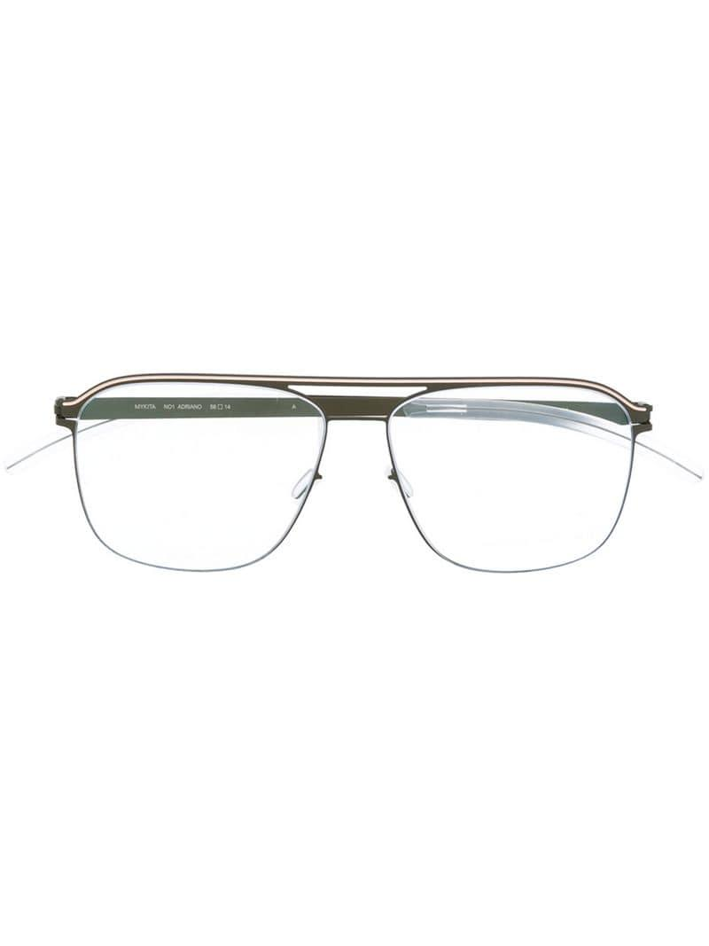 be78e92788c3b Mykita Adriano Glasses in Gray - Lyst
