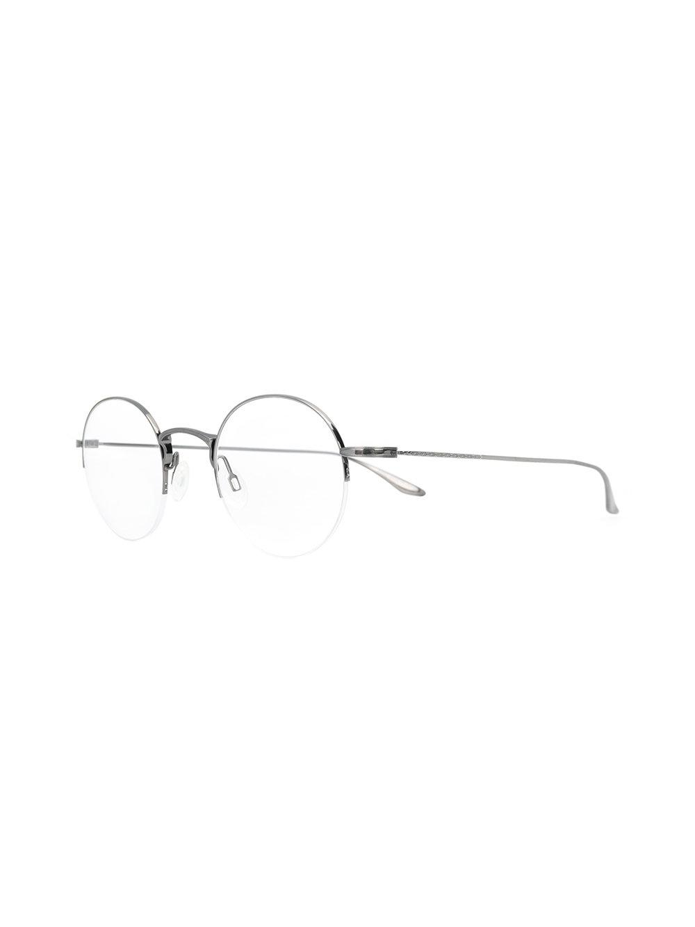 dc81a8dfcc0 ... Metallic Round Frame Glasses - Lyst. View fullscreen