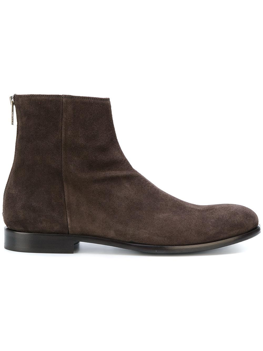 68e01ccfbfa Lyst - PS by Paul Smith Ankle Length Boots in Brown for Men