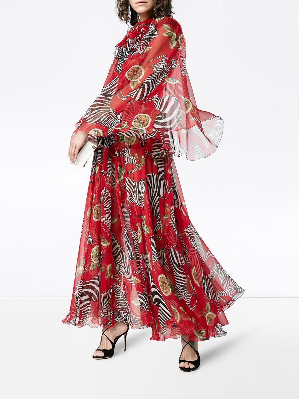 dress - Gabana Dolce zebra dress collection video