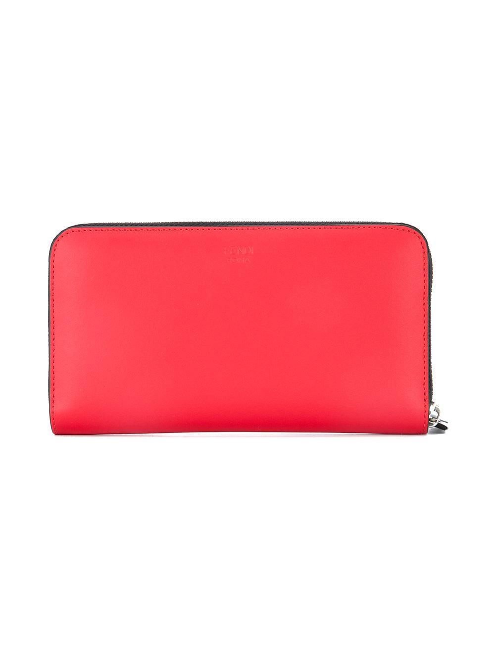 Lyst - Portefeuille à appliqués Bag Bugs Fendi pour homme en coloris ... 448b006fb6a