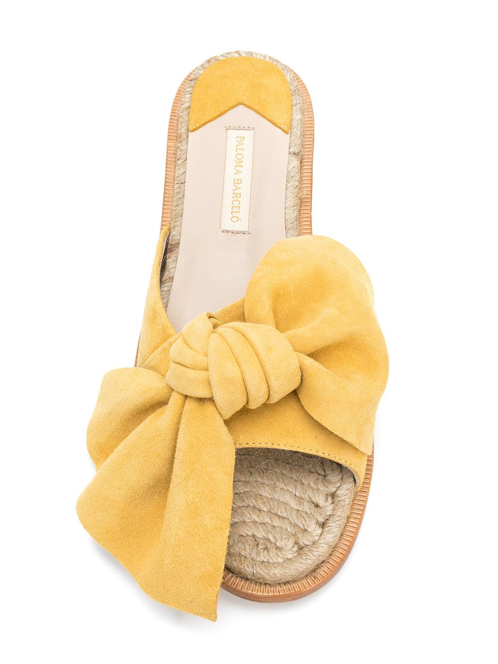 Sandales Arc Plat - Paloma Jaune Et Orange Barcel 6yvSmoZ9V