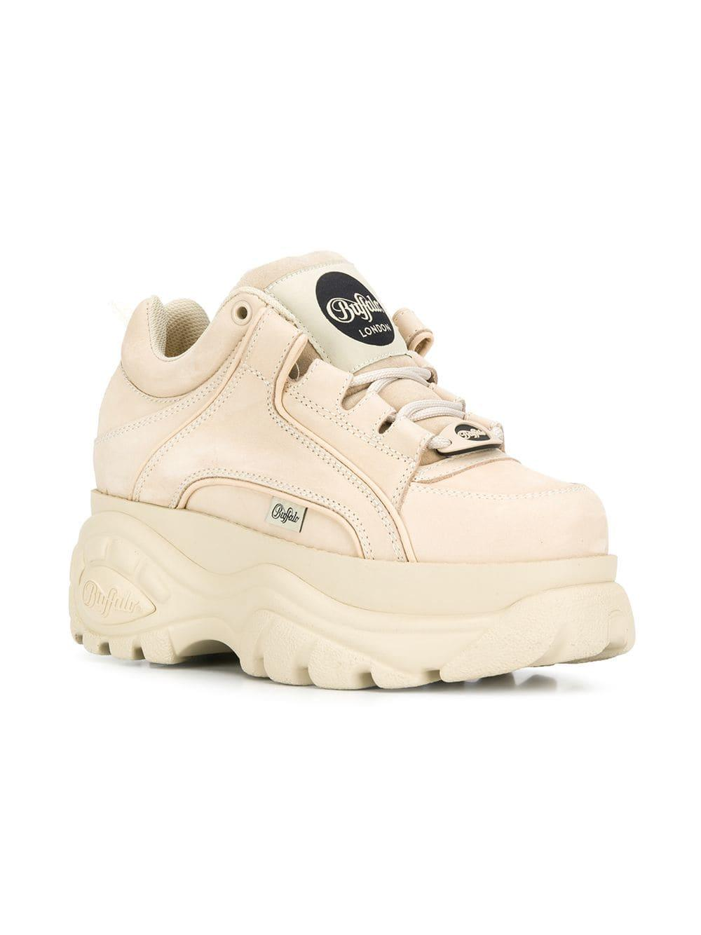 6501b2fed9 Lyst - Buffalo Platform Sneakers in Natural