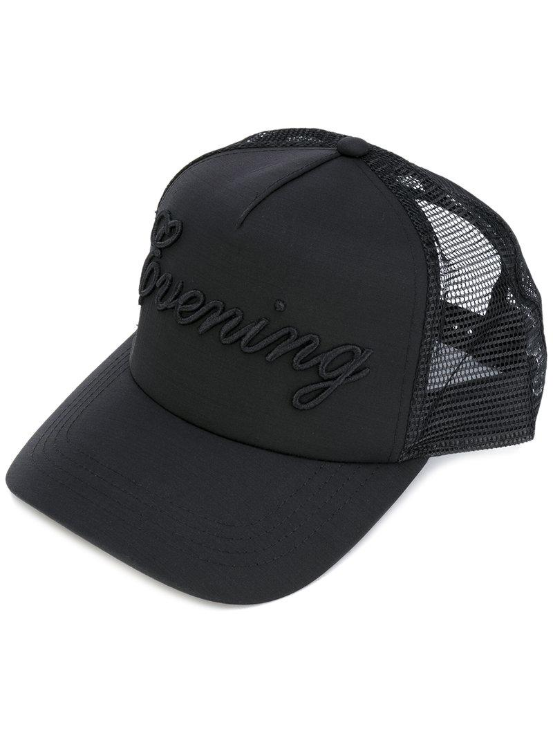 Lyst - DSquared² Evening Baseball Cap in Black for Men 661b2eaba5d