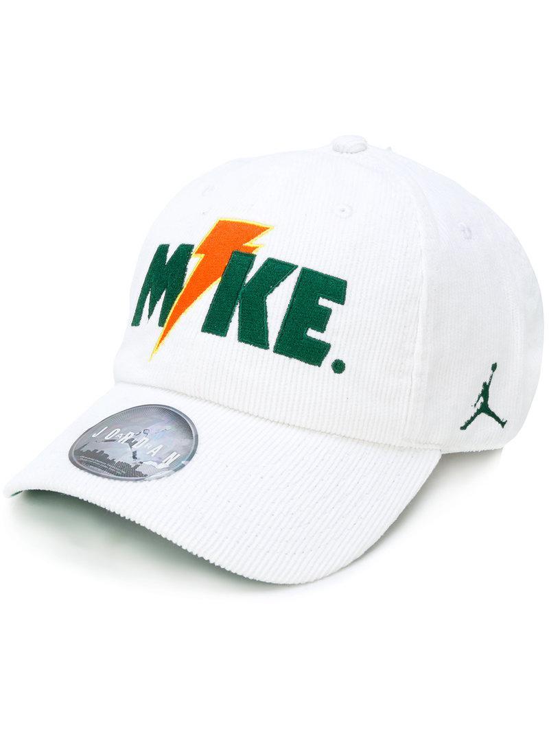 67058955f2a54 Lyst - Nike Jordan H86  like Mike  Cap in White for Men