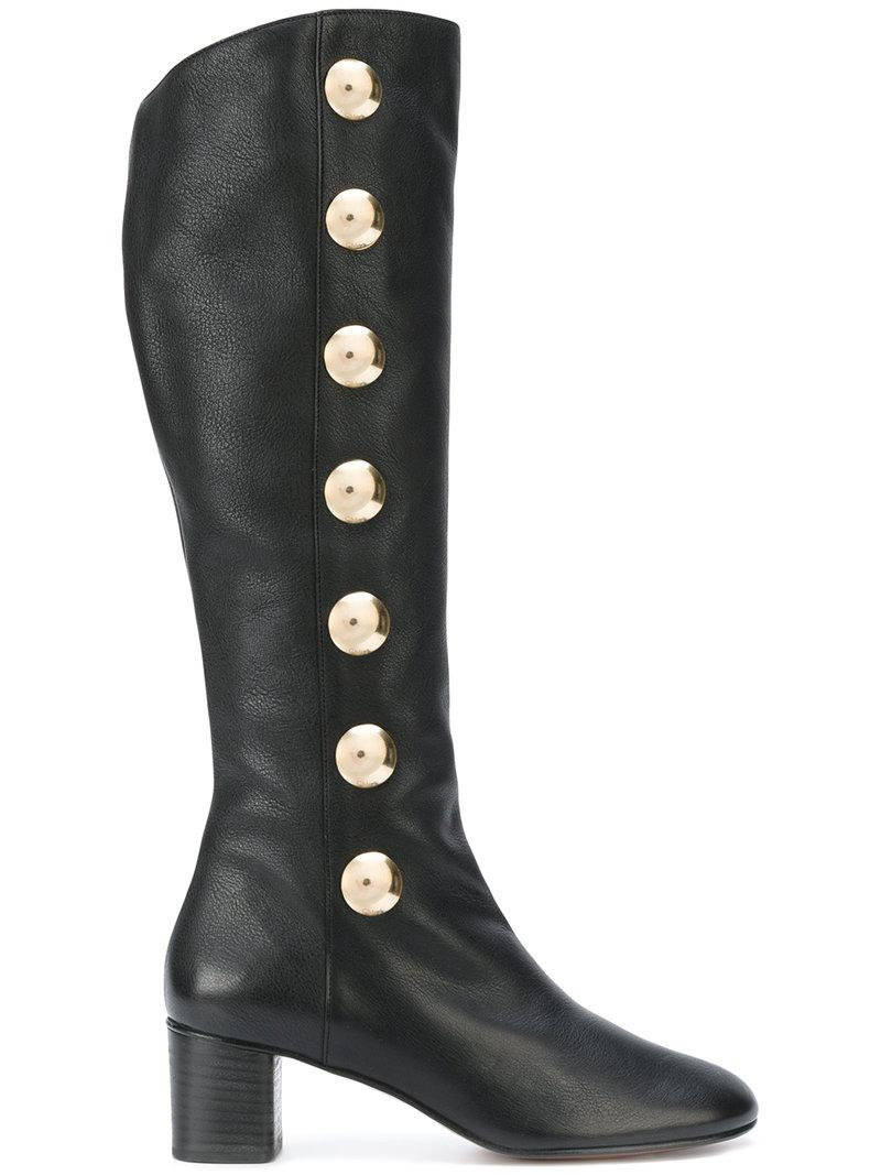 Chloé Multistrap Knee-High Boots lowest price sale online stockist online CDJBOD8