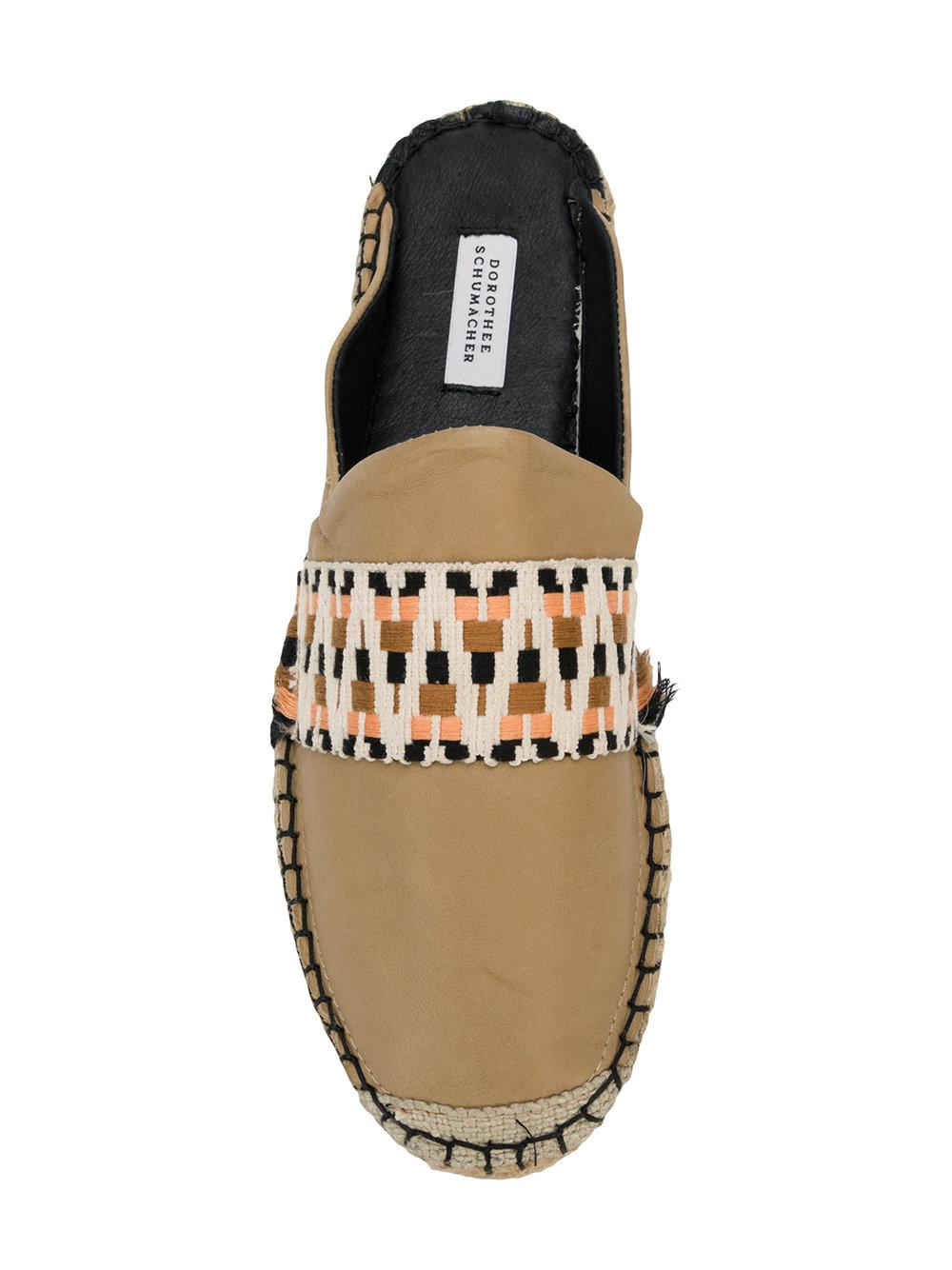 Discount Enjoy slip-on espadrilles - Nude & Neutrals Dorothee Schumacher Discount Pick A Best Clearance Perfect Sale Sale Online EwLj6O6D