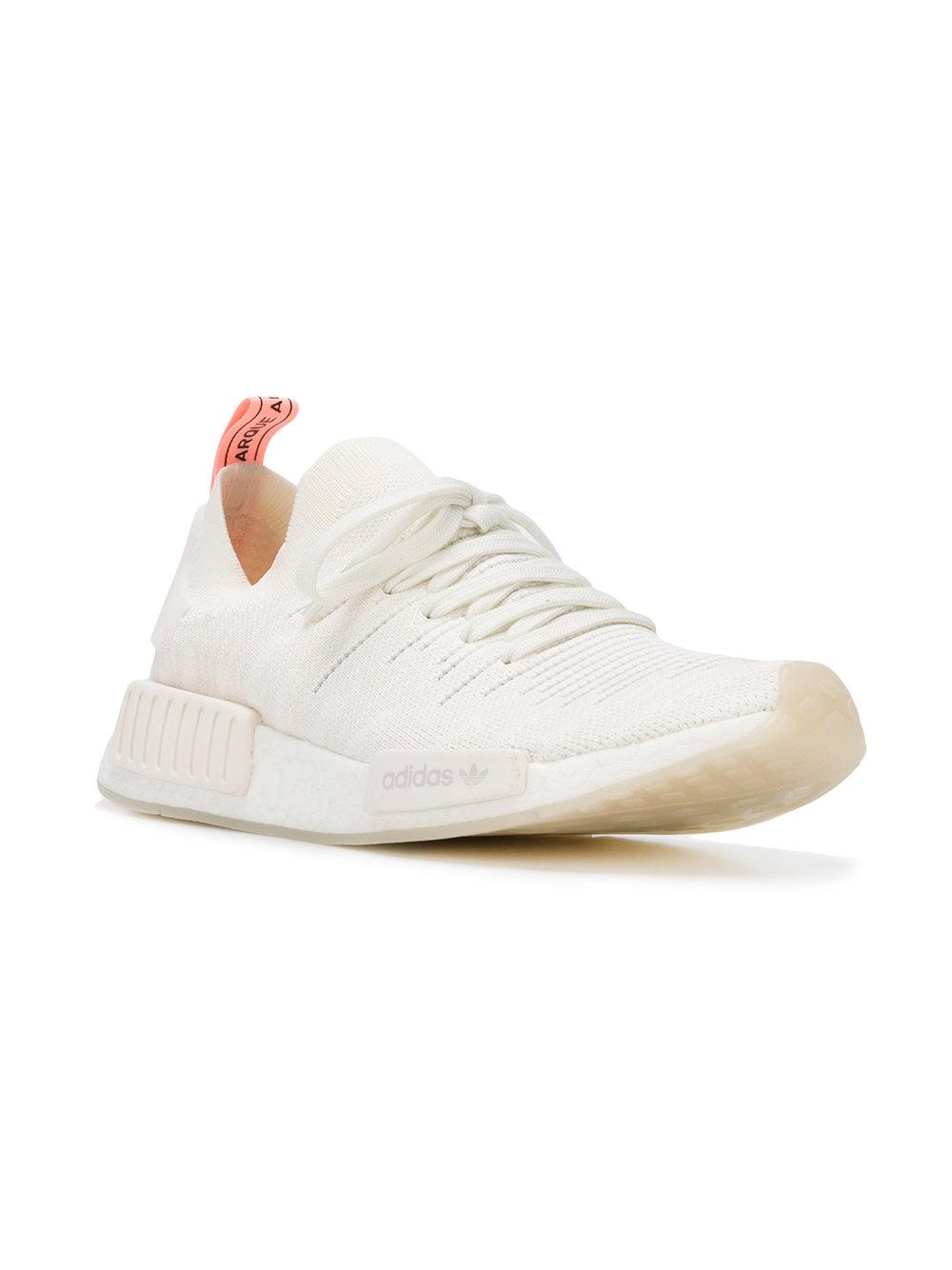 1e9185d08 Lyst - adidas Originals Nmd r1 Stlt Primeknit Sneakers in White