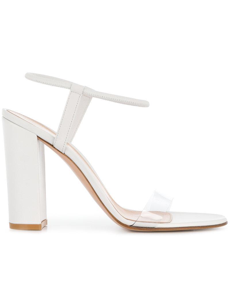 Yeezy transparent strap sandals - Black farfetch Estate Obtener Auténtica Footlocker En Línea Envío Libre Auténtico GQt8K4