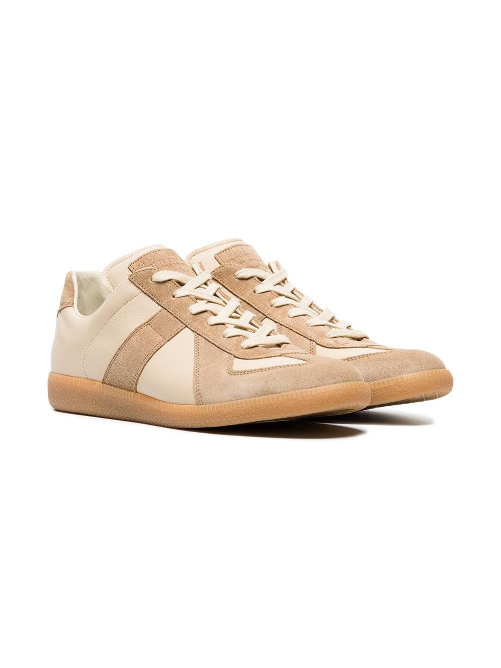 Margiela Hi Maison Neutrals Pelle Future top SneakersNudeamp; Farfetch Beige cRj3L54Aq