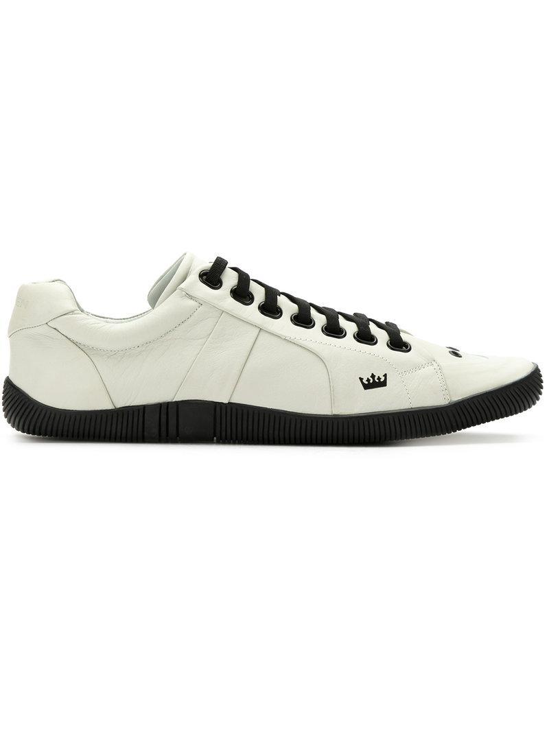 Chaussures De Sport En Cuir Blanc - Osklen rlQKMwoLt