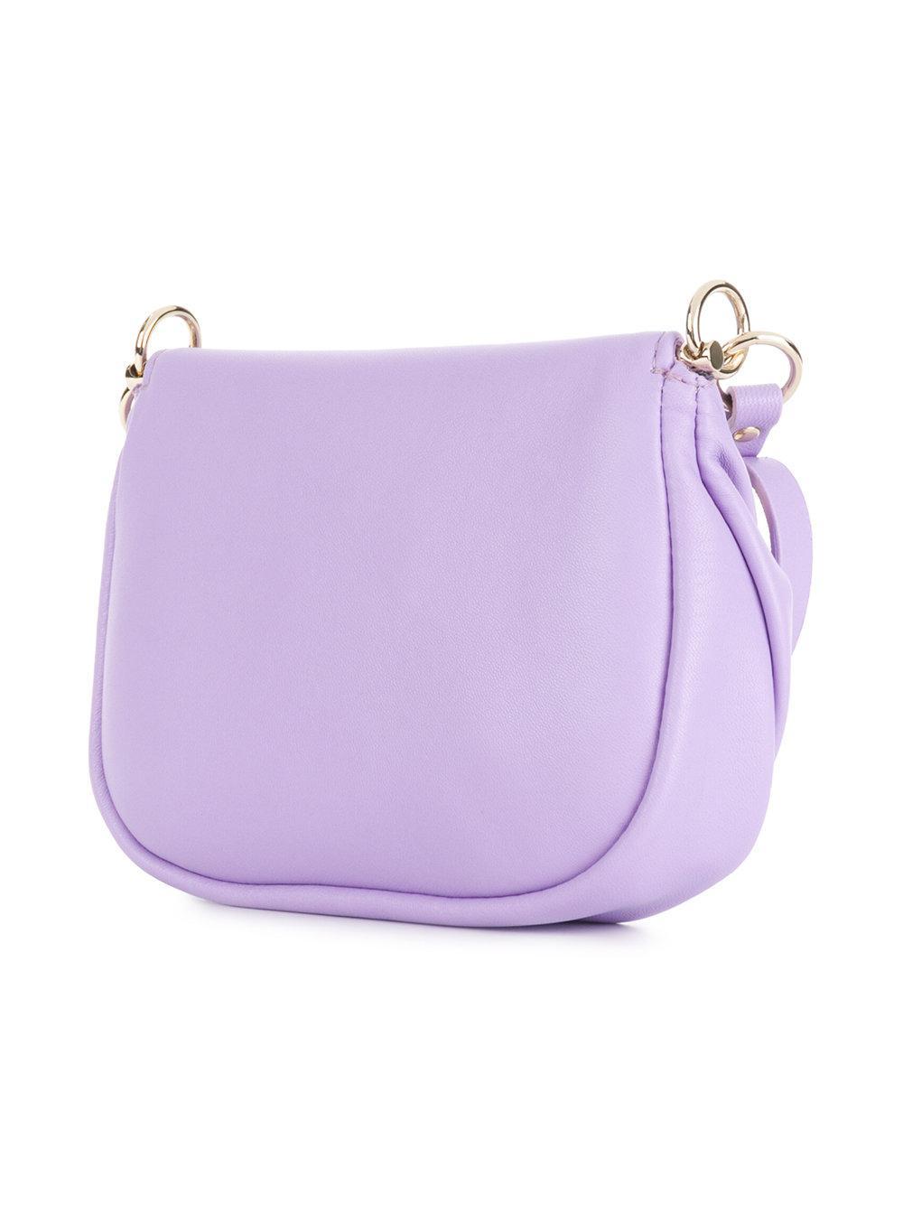 Versace Metalways shoulder bag - Pink & Purple iTocHnS9