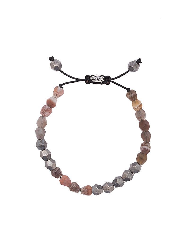 M. Cohen beaded bracelet - Nude & Neutrals LOB5rx