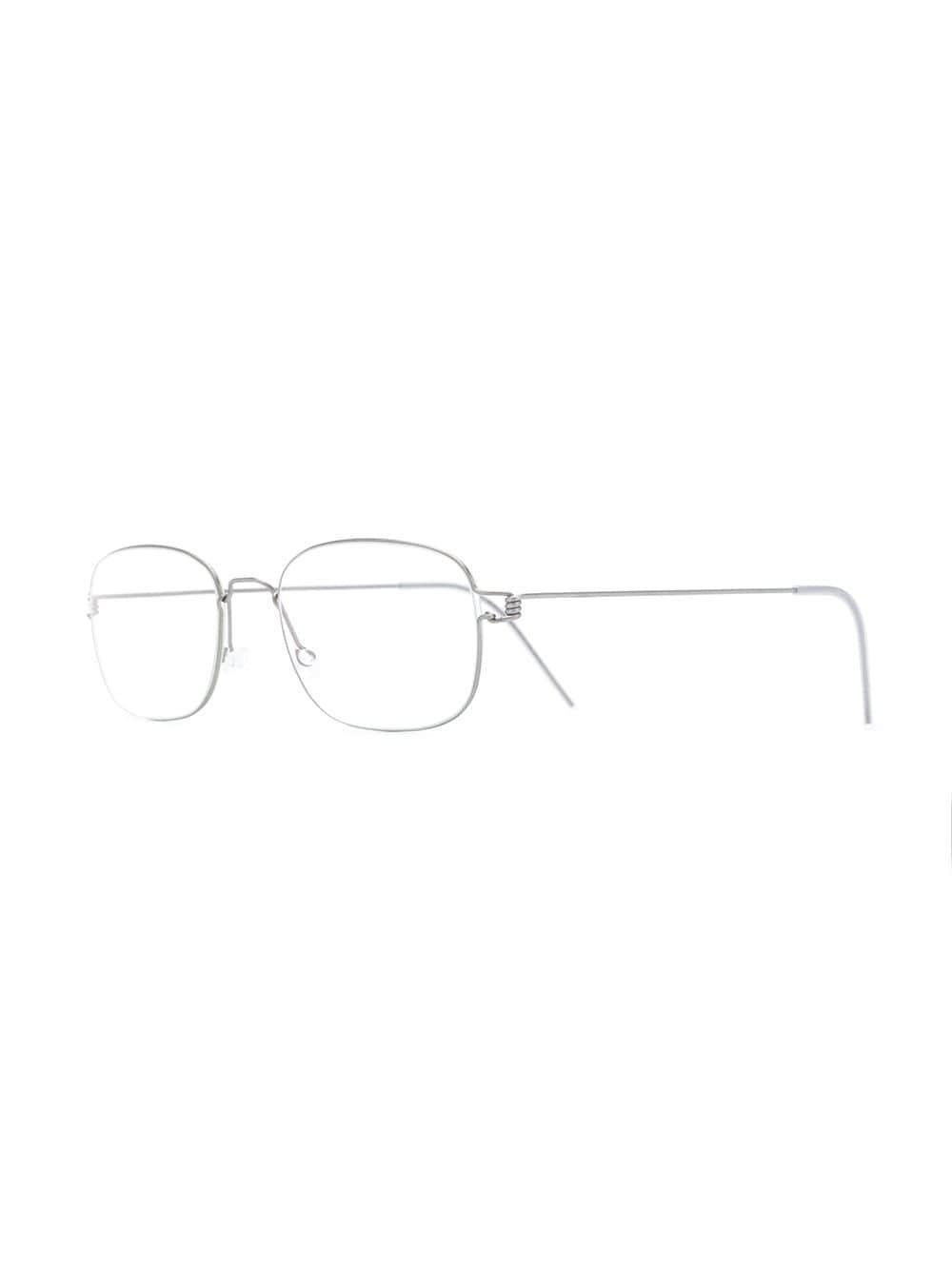 f5b5378132 Lindberg - Metallic Mars Rectangular Glasses - Lyst. View fullscreen