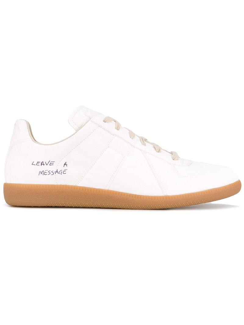 Discount Enjoy melted-detail sneakers - White Maison Martin Margiela Discount Latest Discount Largest Supplier Outlet Manchester hxhHaki