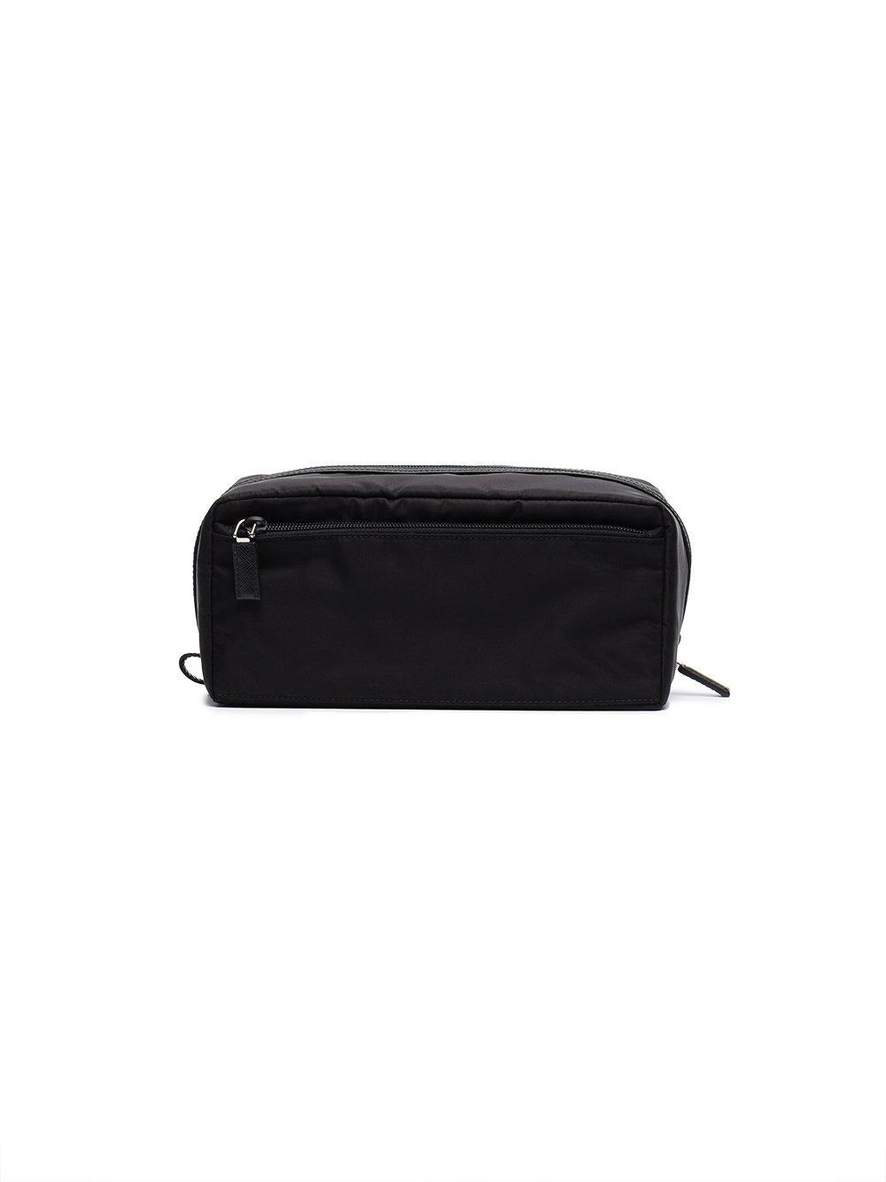 4789fcacda7 Prada - Black Logo Wash Bag for Men - Lyst. View fullscreen