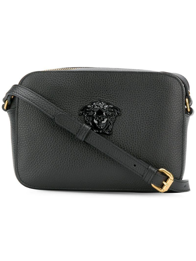 Lyst - Versace Palazzo Shoulder Bag in Black 948828948f9a6