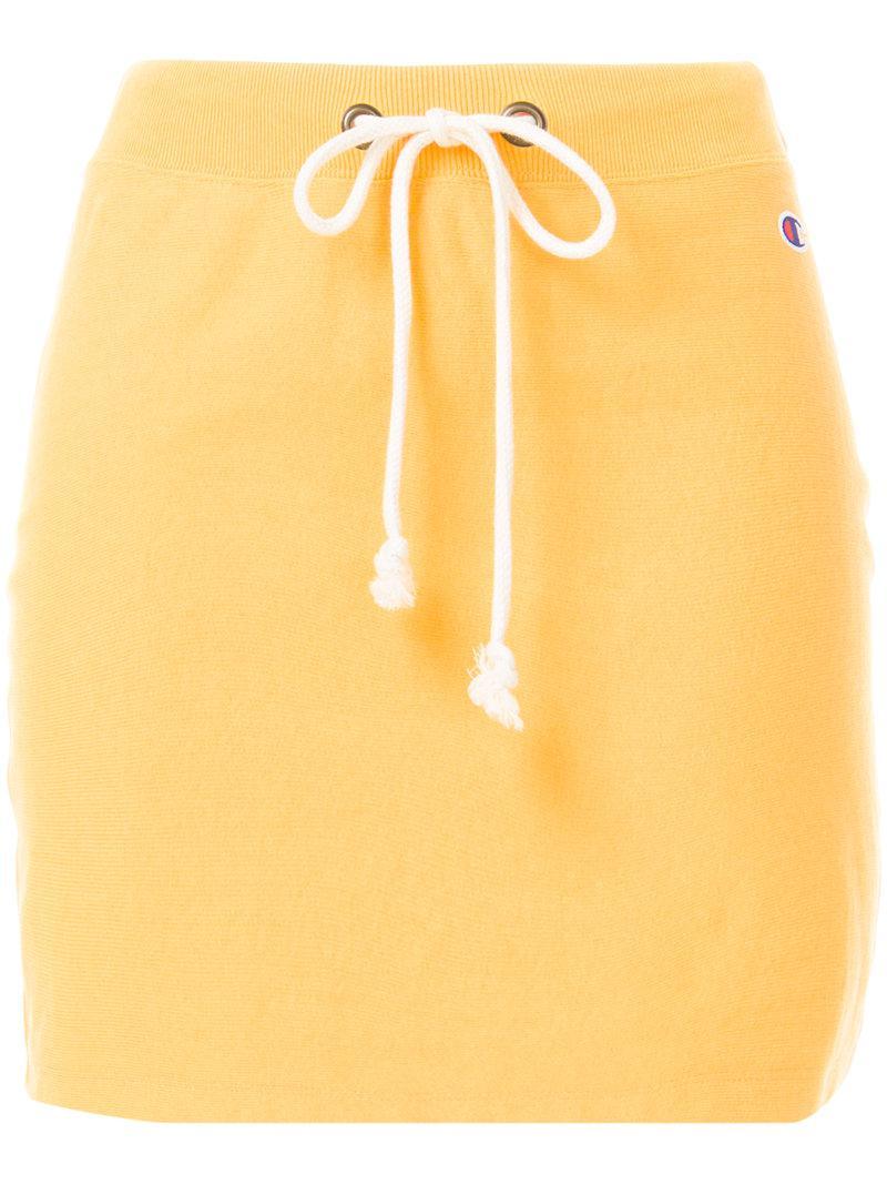 4784129b3 Champion Drawstring Skirt - Lyst