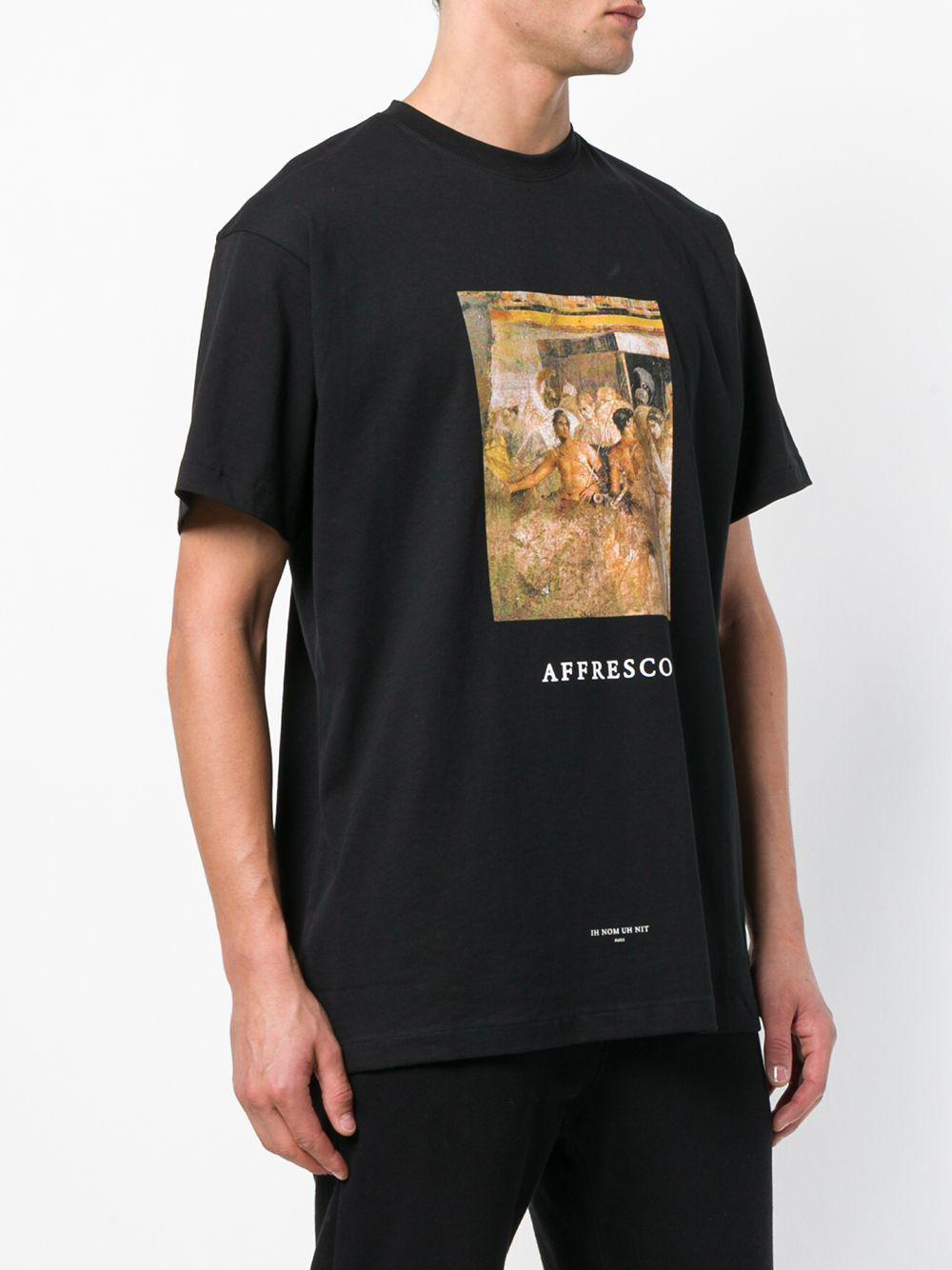 Lyst ih nom uh nit Alfresco T shirt in Black for Men