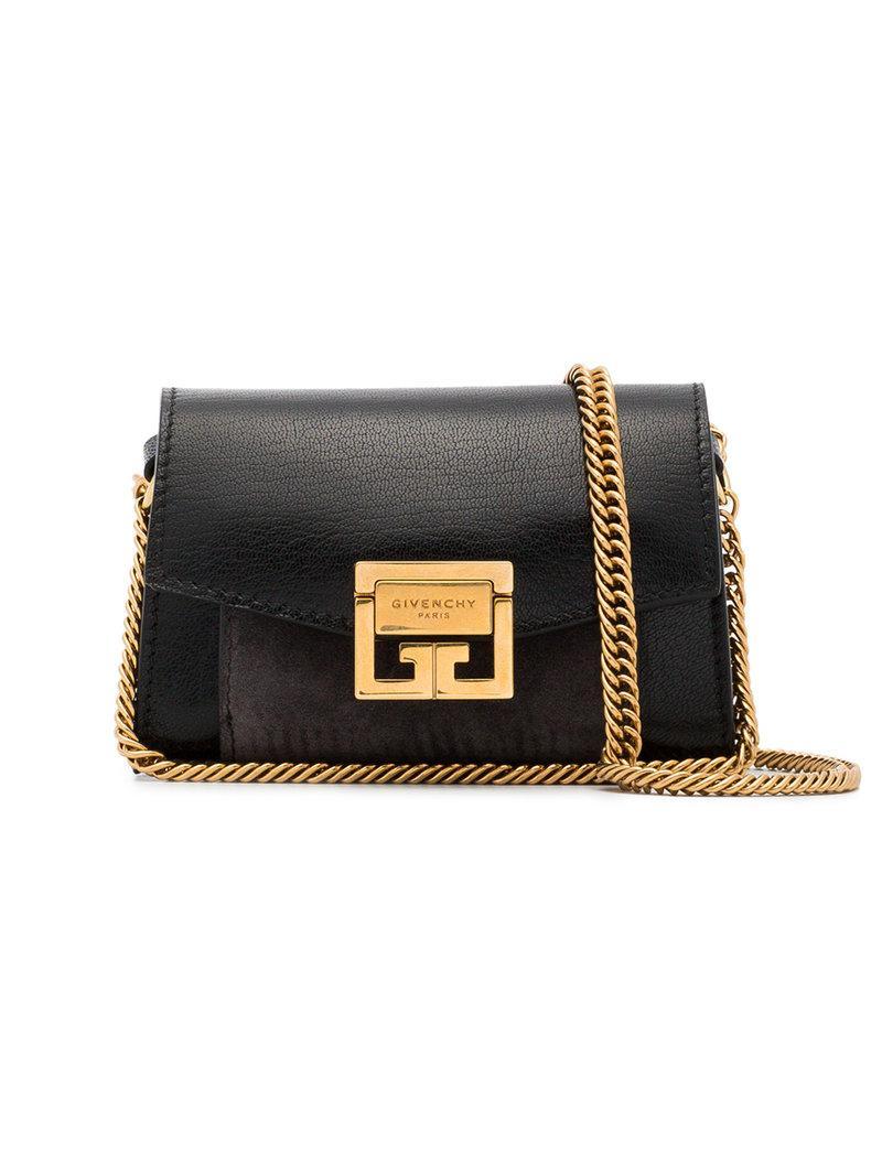 f04a0183512e Givenchy Nano Gv3 Bag in Black - Lyst