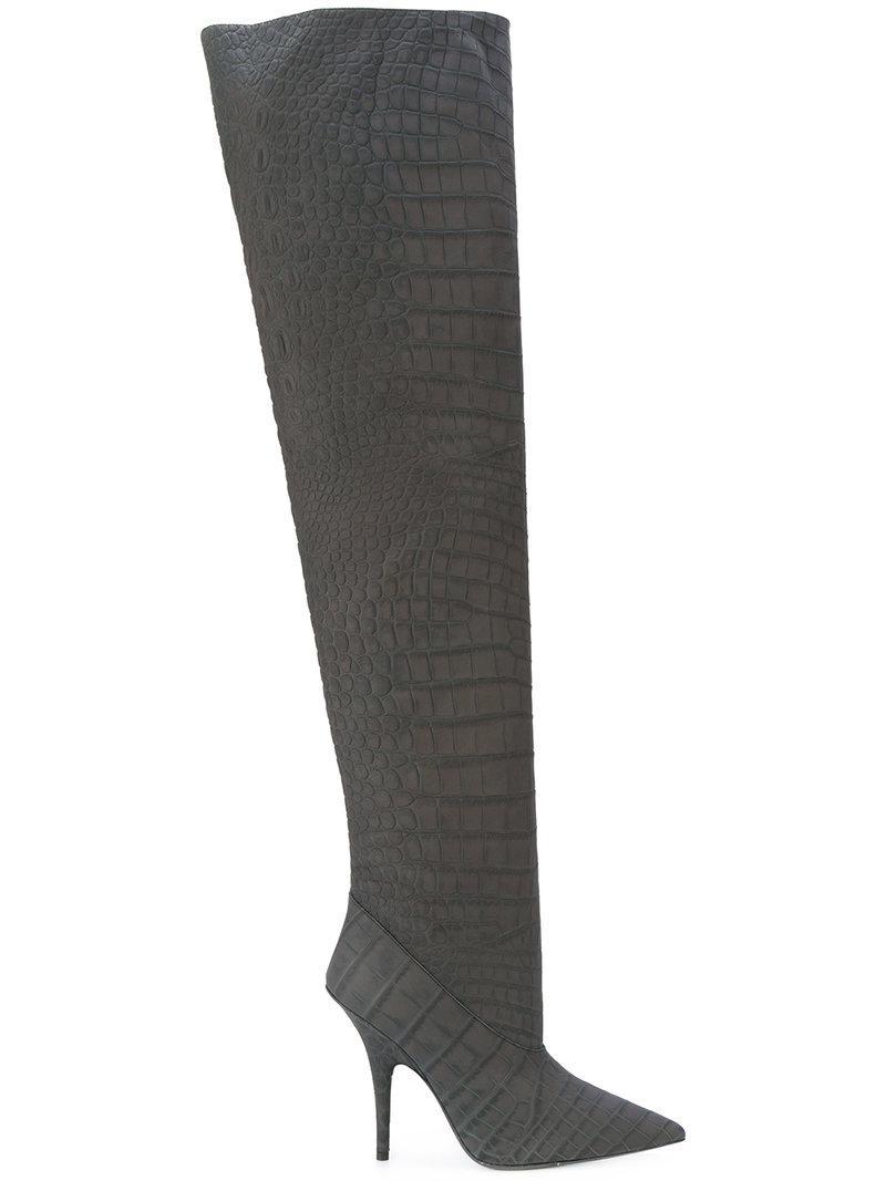 Yeezy Embossed tubular boots rKTvtnF2