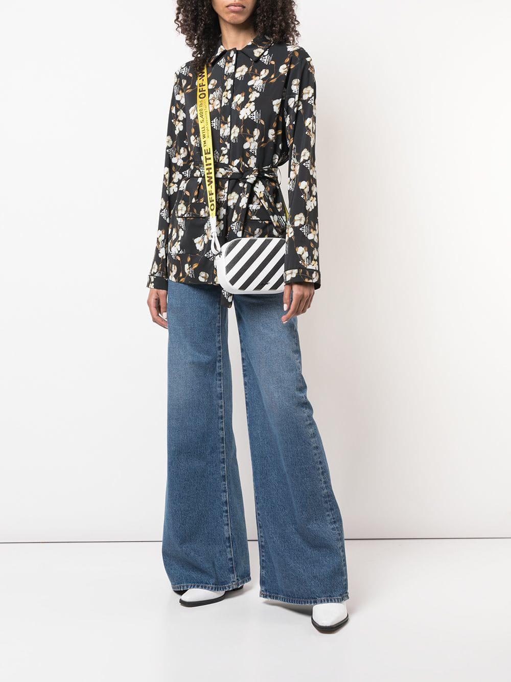 1ffae9d1e021 Lyst - Off-White c o Virgil Abloh Classic Flare Jeans in Blue - Save 31%