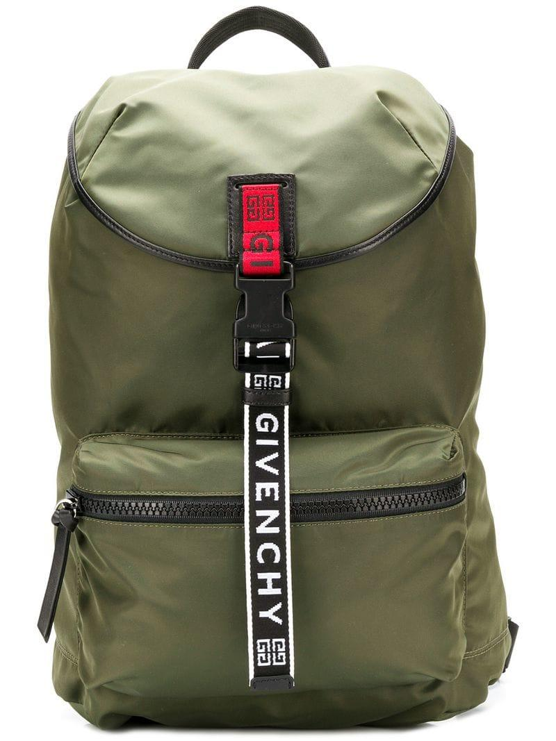 983fd037db11 Givenchy - Green Military Style Backpack for Men - Lyst. View fullscreen