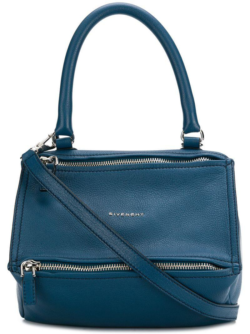 Givenchy Pandora Tote Bag in Blue - Lyst 3cd756ff38590