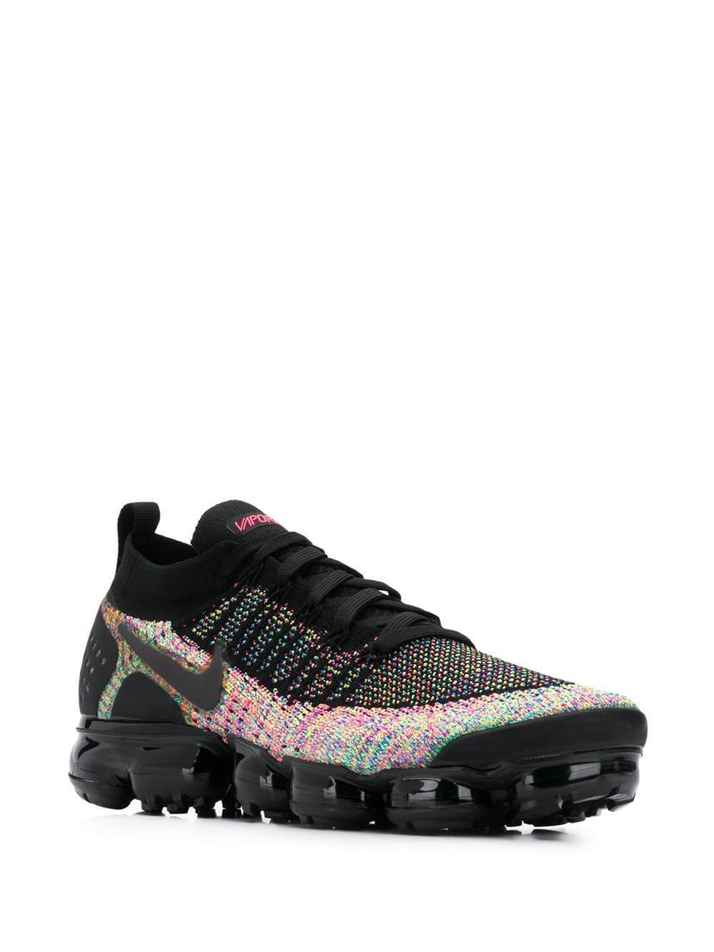 4f85c755e8 Lyst - Nike Vapormax Flyknit 2 Sneakers in Black for Men
