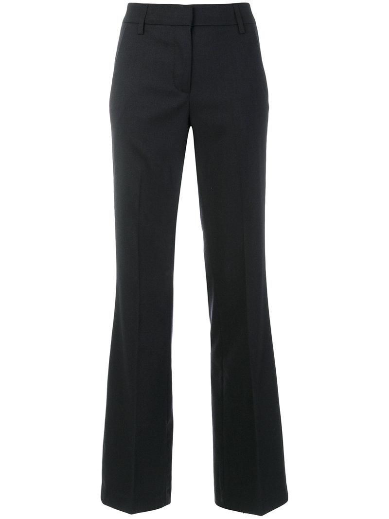 straight leg trousers - Blue Dondup