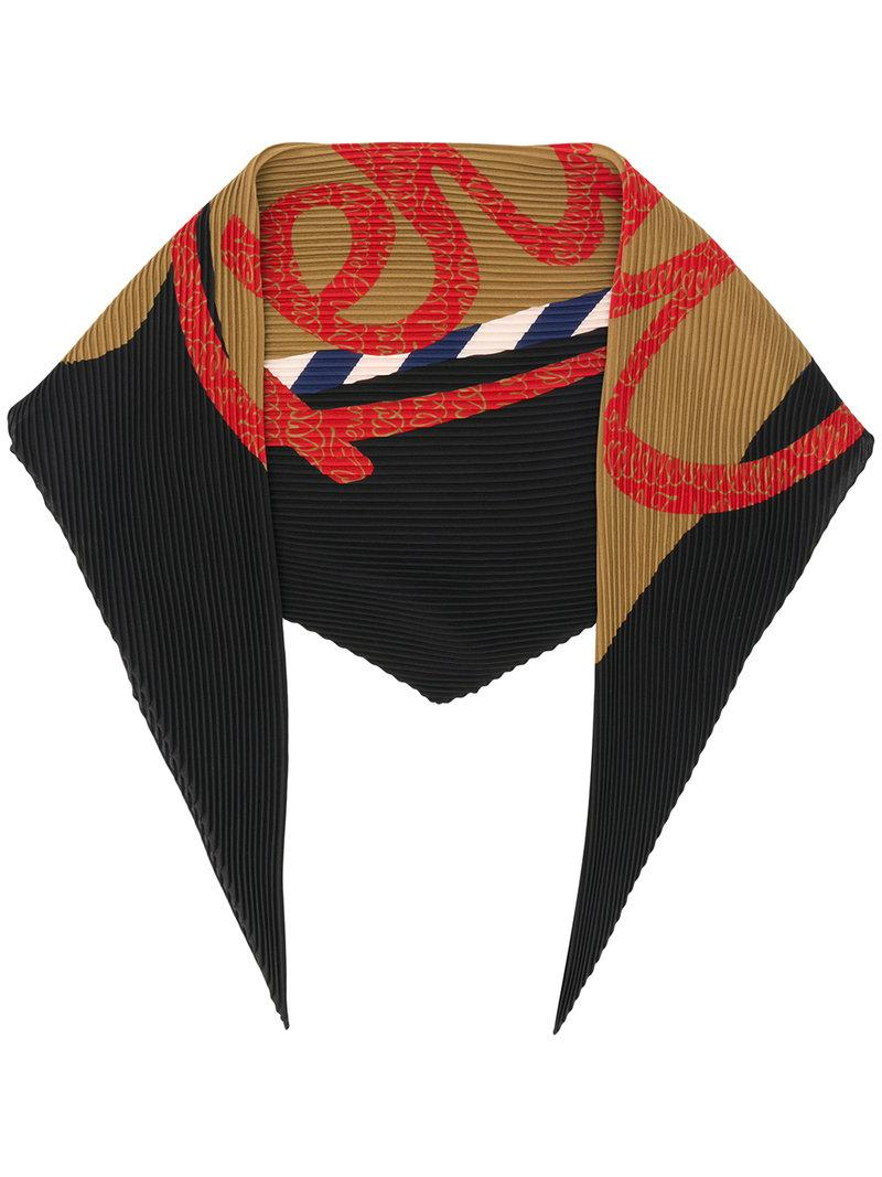 Fendi pleated logo scarf Low Shipping Cheap Price Buy Online With Paypal Pick A Best Sale Online Quality From China Wholesale p2Vk8