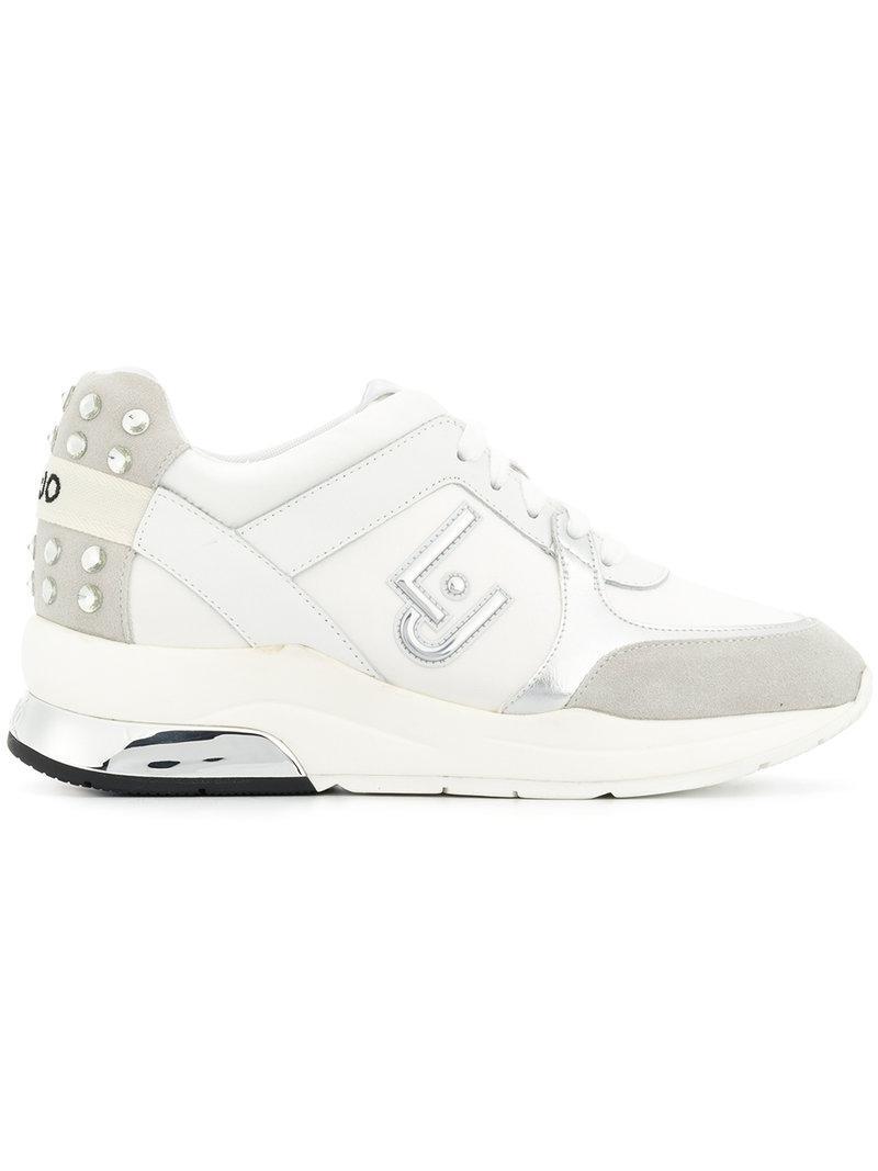 Jo Liu Chaussures De Sport Semelle Épaisse - Blanc 3cGGUl