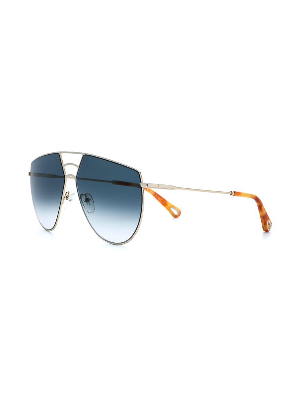 6a740dff5b Lyst - Gafas de sol Ricky Chloé de color Azul