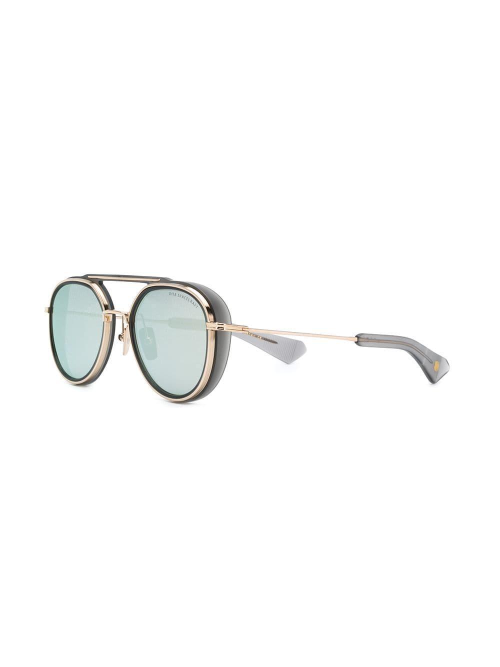79eb95990819 Dita Eyewear Pilot-shaped Sunglasses in Gray - Lyst