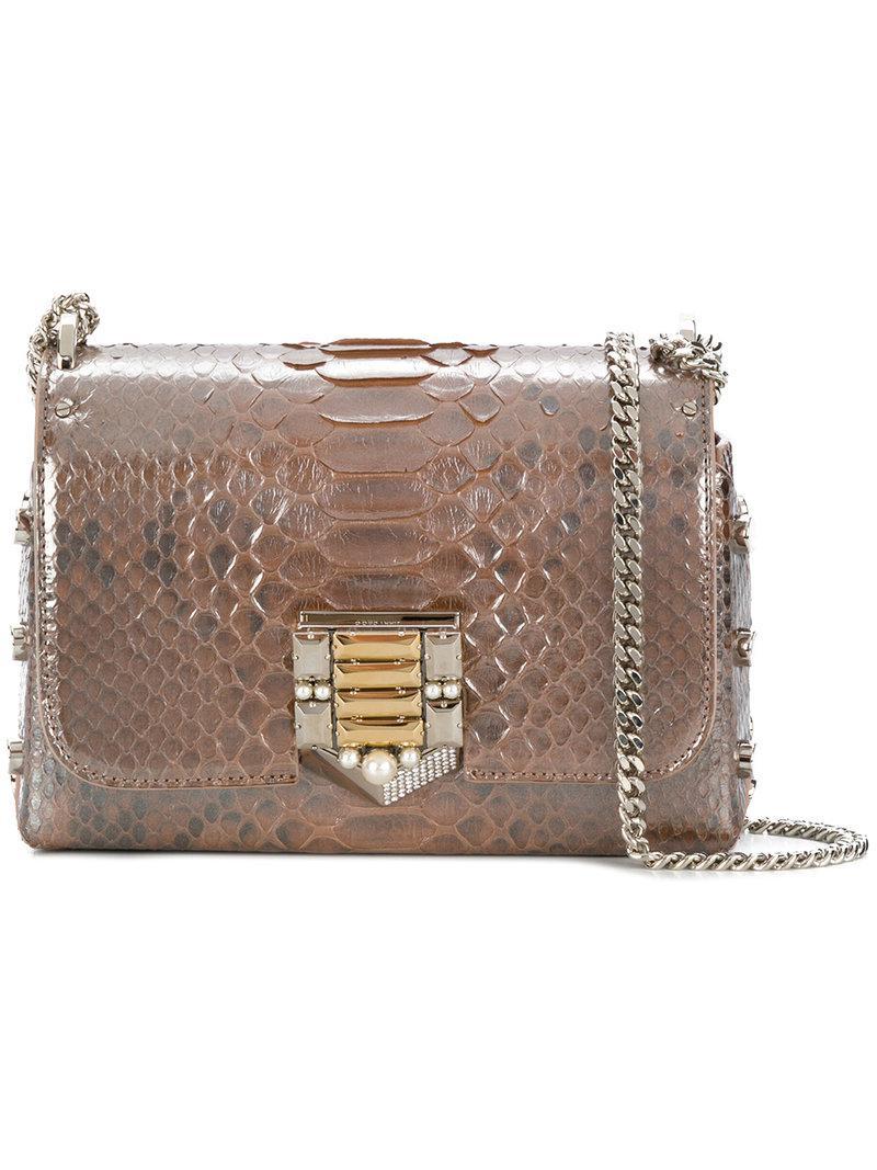 Lockett Mini shoulder bag - Metallic Jimmy Choo London DRlQz