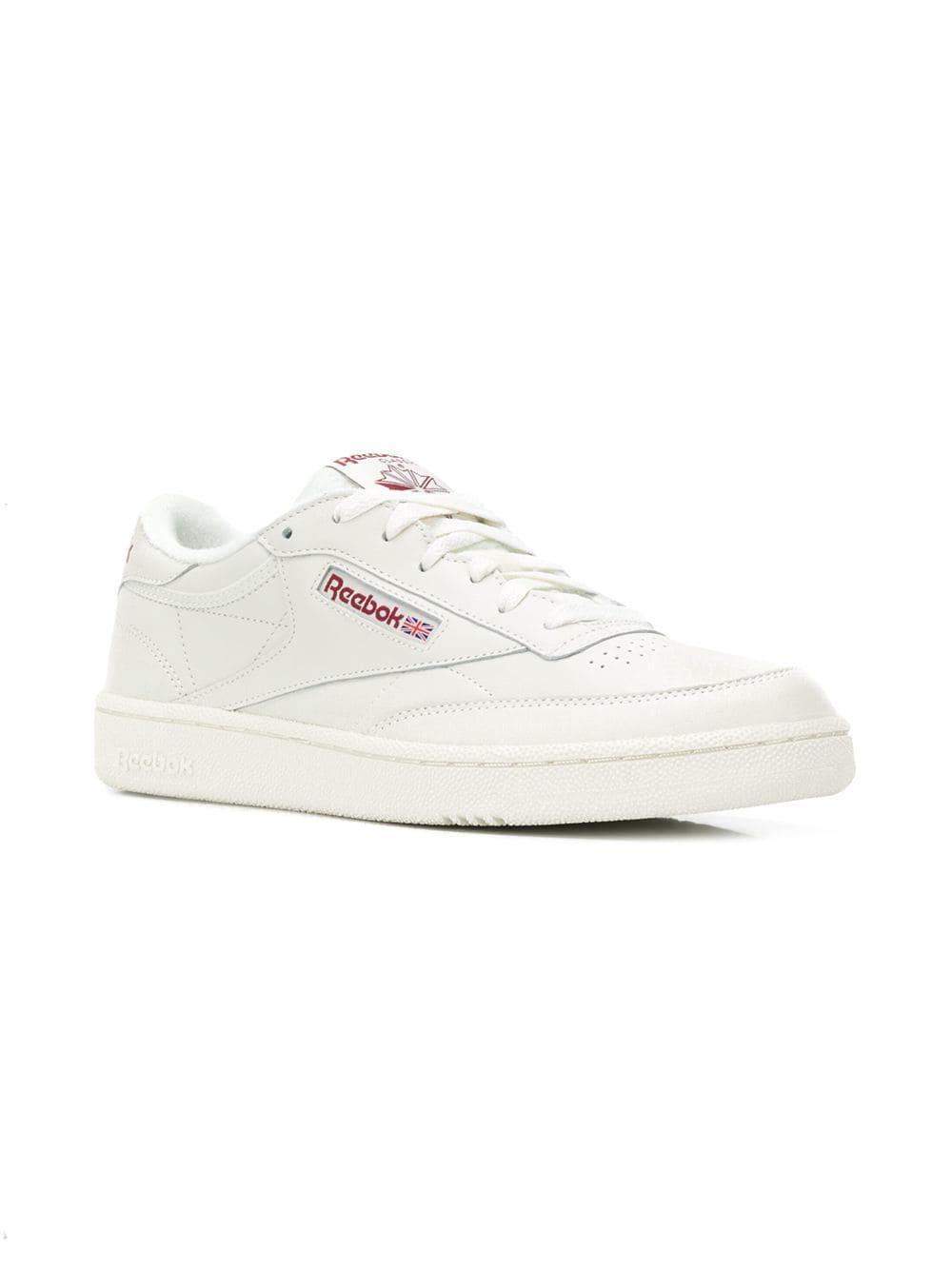 61d323672523 Reebok - White Classic Low Sneakers for Men - Lyst. View fullscreen