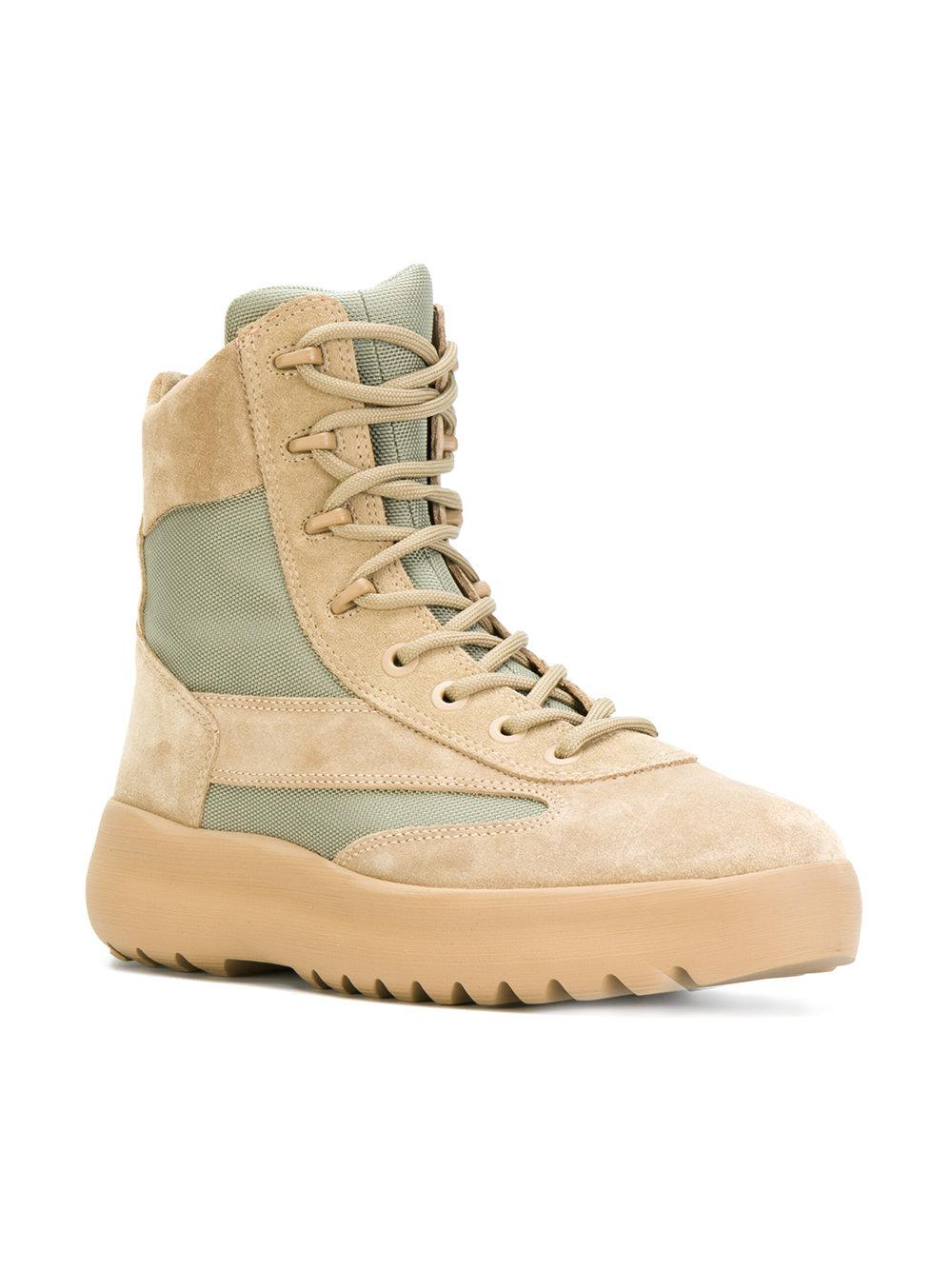 Yeezy Panelled high top sneakers 0PW5YjG1