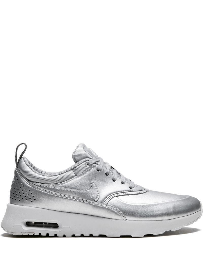 innovative design a180b b3b8d Nike. Women s Metallic W Air Max Thea Se Sneakers