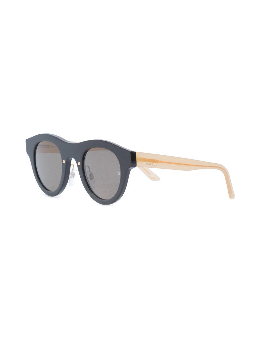 957f303d52f Osklen Ipanema V Sunglasses in Black - Lyst