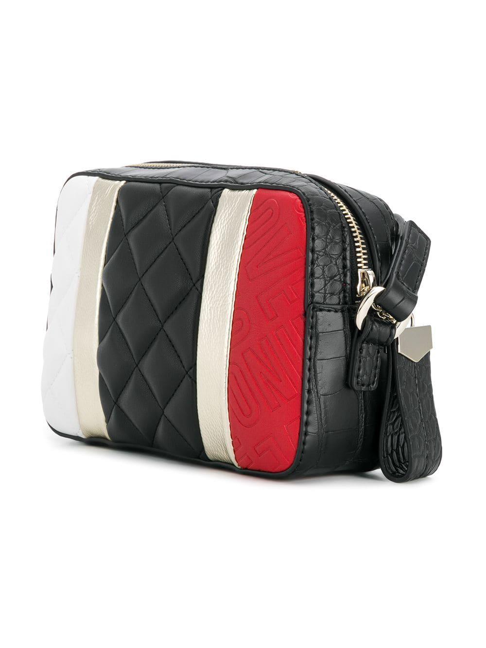 a26111ea94a Lyst - Love Moschino Borsa Sling Bag in Black